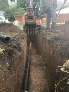 Buried Pipe